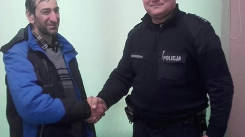 48-latek szedł z Kopenhagi do Budapesztu. Pomógł mu polski dzielnicowy