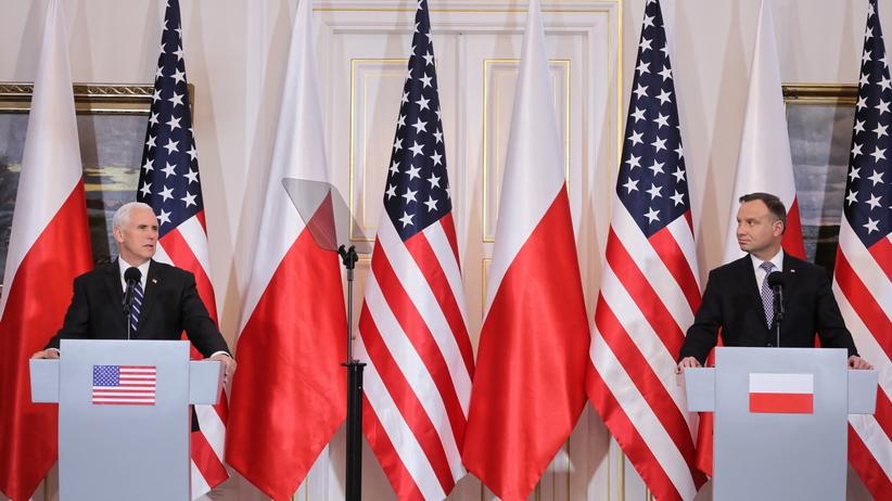 O czym rozmawiał Andrzej Duda z wiceprezydentem USA?