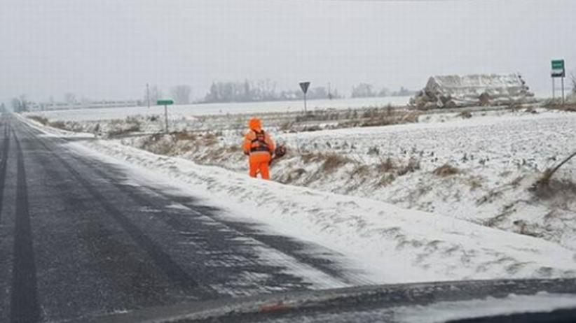 Zima zaskoczyła drogowców? Niekoniecznie! To zdjęcie jest HITEM sieci [FOTO]