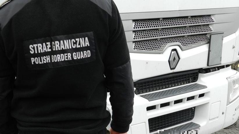 Nielegalni imigranci przedostali się do Polski. Ukryli się w naczepie ciężarówki