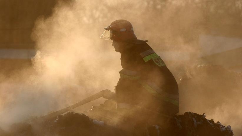 Pożar wysypiska w Pyszącej. Już szósty! Sprawę bada prokuratura [WIDEO]