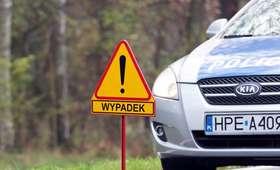 Wielkopolska: Zderzenie 5 samochodów. Jedna osoba nie żyje