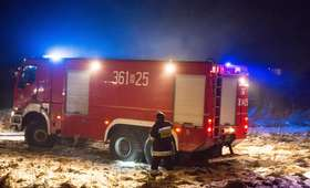 Tragiczny pożar w Wieluniu. Znaleziono ciała dwóch kobiet