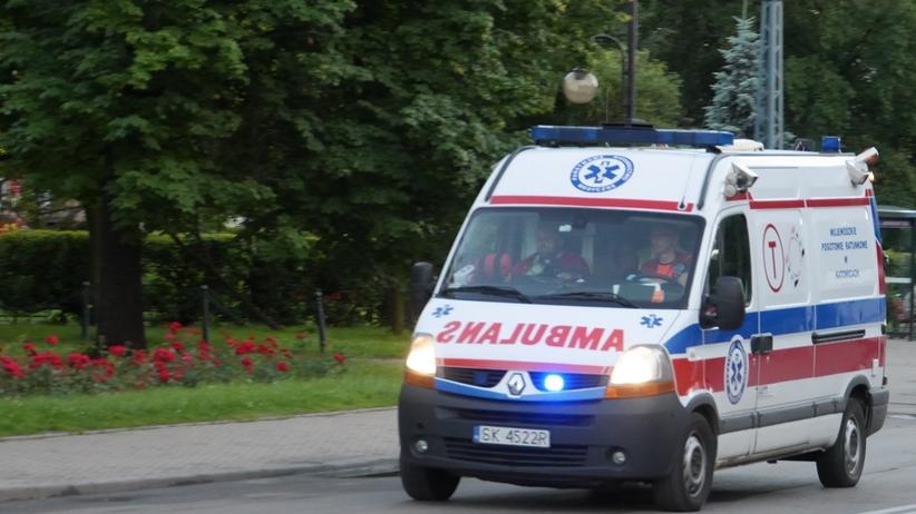 Wypadek autokaru z dziećmi koło Czestochowy