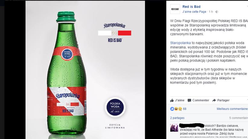 Nowa reklama wody Staropolanka. Internauci oburzeni