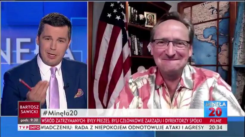 Cejrowski w TVP Info: Trump kocha Polskę, Tusk też, ale on od tyłu