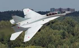 Wojskowy myśliwiec rozbił się nad Mazowszem. Pilot odnaleziony żywy