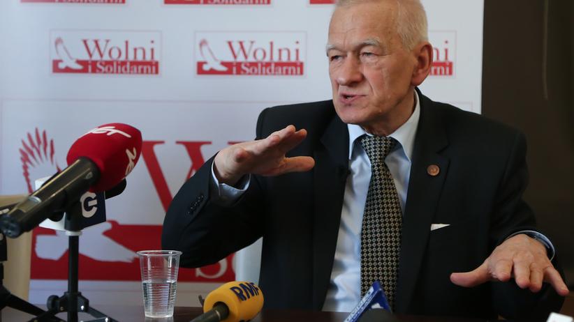 Wybory 2018. Zmarli na liście poparcia Wolnych i Solidarnych Kornela Morawieckiego