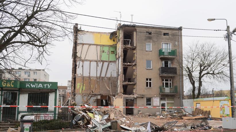 Poznań, zniszczona kamienica