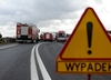 Zablokowana autostrada A4. Zderzyły się dwie ciężarówki