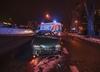 Dramat na Podlasiu. Trzy osoby wypadły  z auta, jedną z nich przejechał  samochód