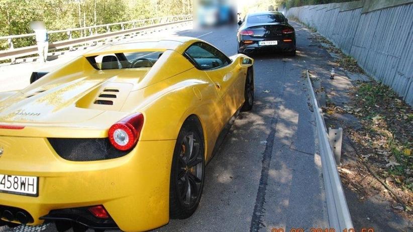Wypadek na Słowacji: 27-letni kierowca Ferrari wyszedł za kaucją. Matka wpłaciła 20 tys. euro