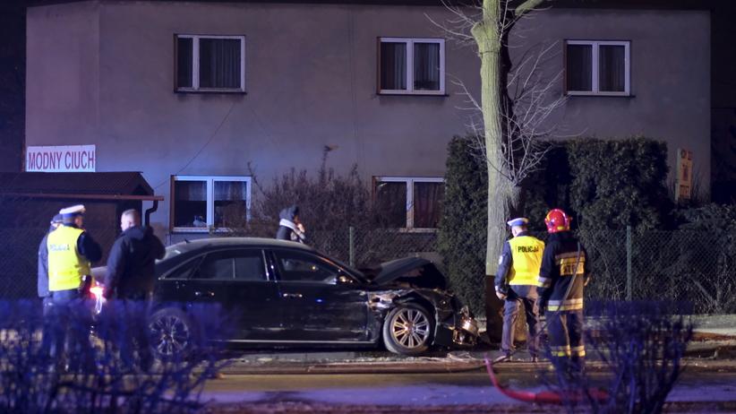Wypadek premier Szydło: nowe nagranie, zarejestrowano moment tuż przed