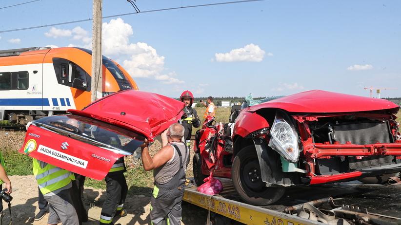 Wypadek w Szaflarach