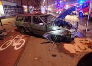 Pijany wjechał w przystanek w centrum Warszawy zabijając 2 osoby. Jest nowy wyrok