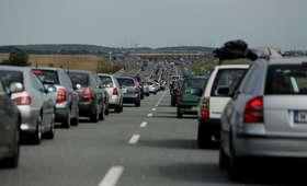 Zablokowana autostrada A2. Zderzyły się cztery samochody