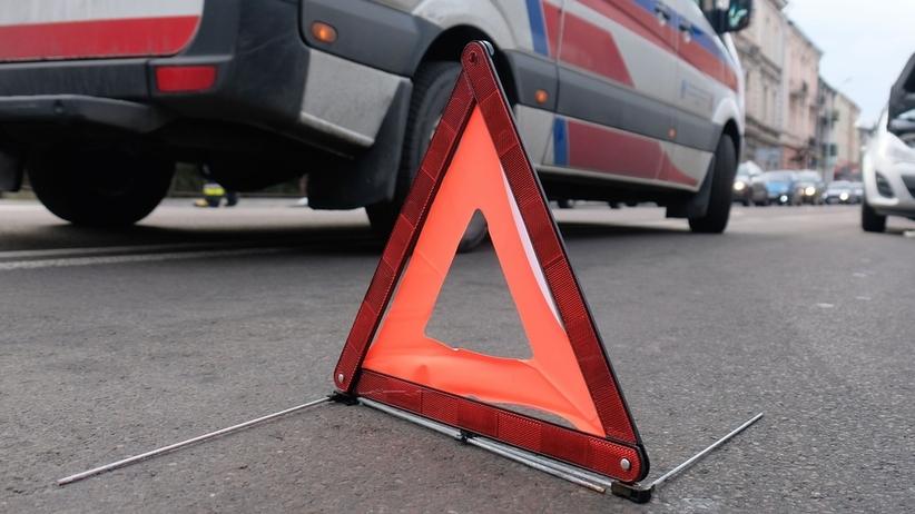 Uwaga, droga zablokowana! Dwie osoby ranne