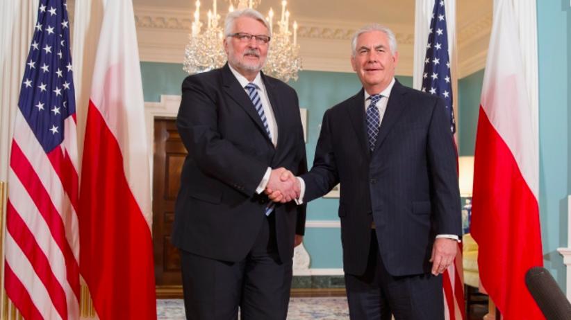 Minister Waszczykowski zakończył wizytę w USA. Poruszył temat wiz i Smoleńska