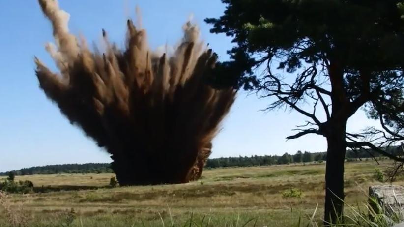 Zdetonowano 500-kilogramową bombę znalezioną w Białymstoku [WIDEO]