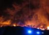 Zgierz: Pożar wysypiska