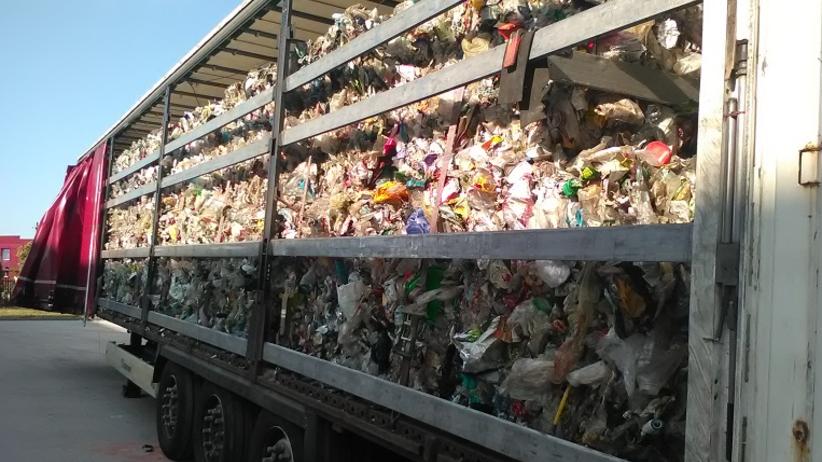 odpady do Polski