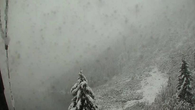 Atak zimy w Polsce. Tatry toną w białym puchu [FOTO]