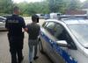 policja i zatrzymany Wietnamczyk