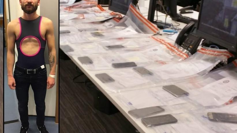 22-letni Rumun ukradł na koncercie 53 smartfony. Wszystkie miał przy sobie