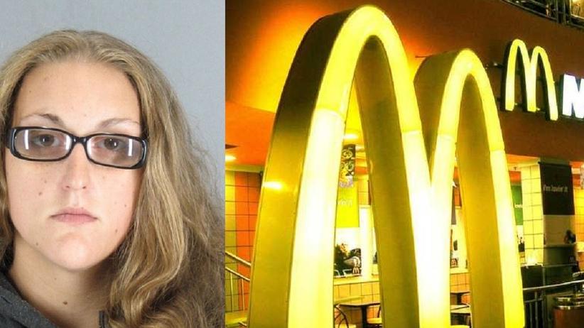 25-latka próbowała spuścić noworodka w toalecie w McDonald's. Została przyłapana