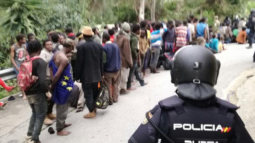 Ceuta migranci