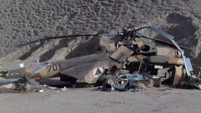 Katastrofa wojskowego śmigłowca. Zginęli wysocy rangą urzędnicy