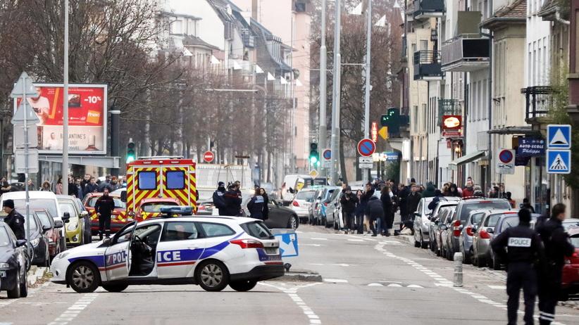 Duża operacja policyjna w Strasburgu