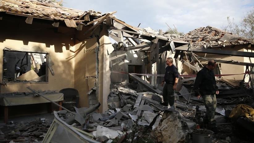 Alarm rakietowy w Izraelu. Wśród rannych jest niemowlę [WIDEO]