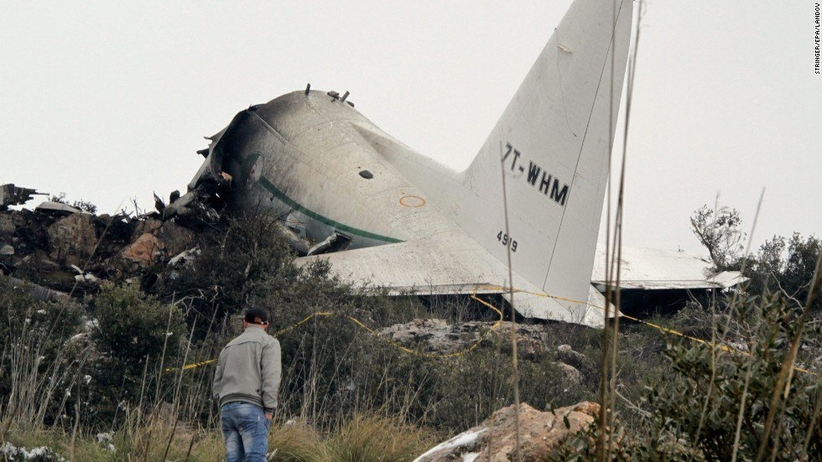 Algieria: Katastrofa samolotu. Na pokładzie blisko 200 osób