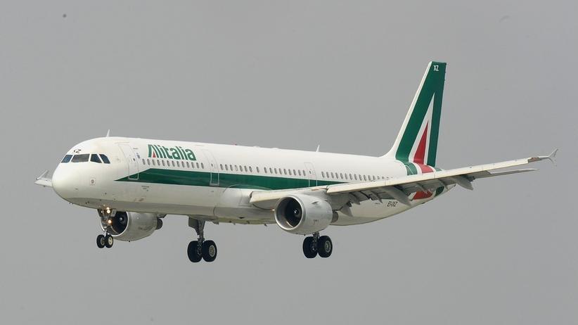 Alitalia traci miliony euro. Włoskie linie lotnicze na skraju upadku