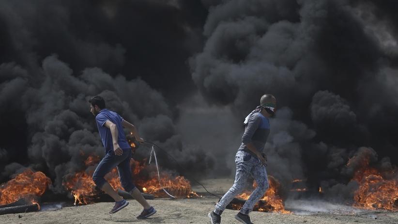 Amerykańska ambasada w Jerozolimie. Krwawe zamieszki na granicy