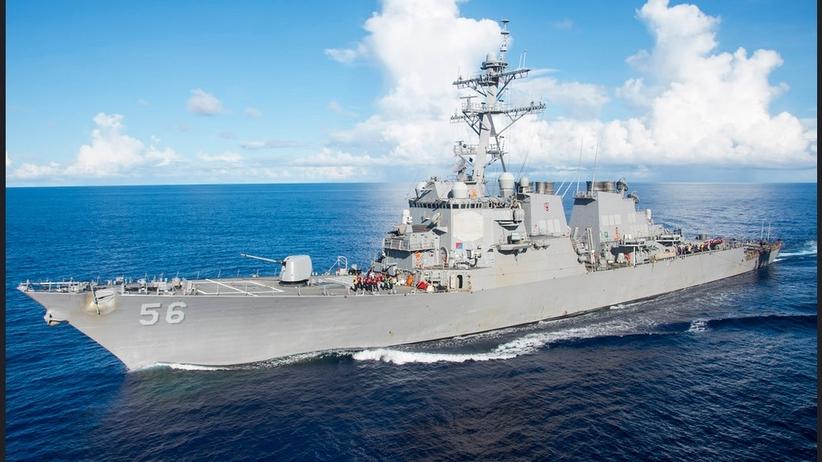 Amerykański niszczyciel zderzył się na morzu z tankowcem. Zaginęło 10 marynarzy