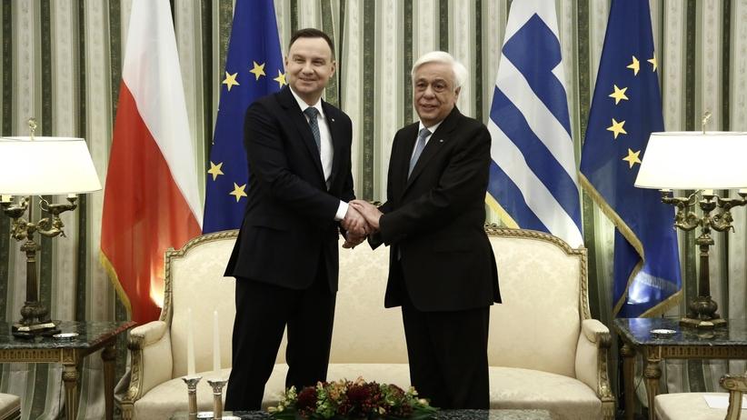 Andrzej Duda z wizytą w Grecji [FOTO]