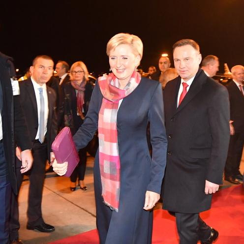 Para prezydencka z wizytą w Grecji