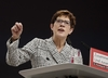 Annegret Kramp-Karrenbauer nową szefową CDU
