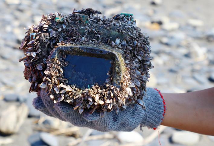 Aparat leżał 2,5 roku w morzu