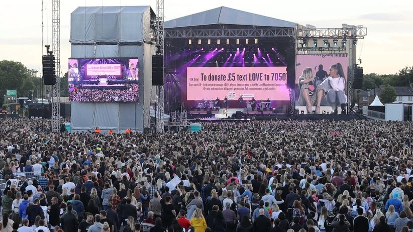 Wzruszające słowa Ariany Grande na koncercie w Manchesterze
