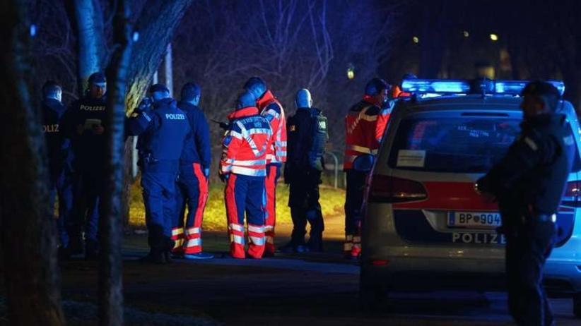 Atak nożownika we Wiedniu