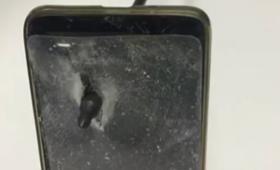 Smartfon uratował życie swojemu właścicielowi. Od śmierci dzieliły go sekundy [WIDEO]