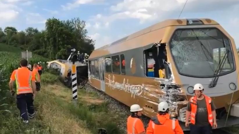 Austria: Wykoleił się pociąg. Są ciężko ranni