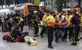 Tragiczny wypadek pociągu w Barcelonie. Wielu rannych