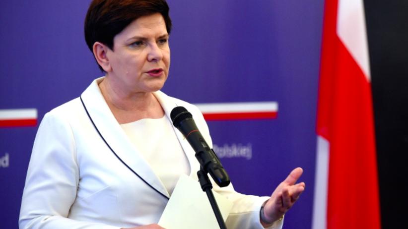 Szydło w Pekinie o prognozie Moody's: Gospodarka polska jest w bardzo dobrej kondycji