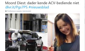 Belgia. Polak zabił belgijską urzędniczkę