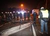 Belgia. Protest tzw. żółtych kamizelek przy stacjach benzynowych i głównych drogach