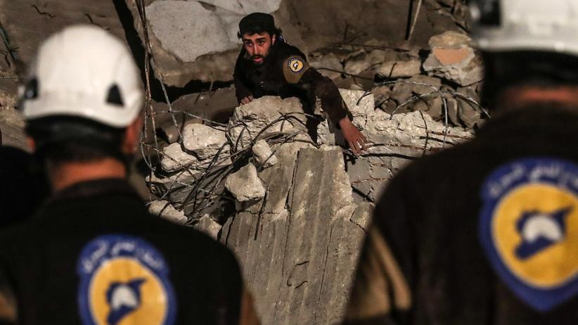 Bliski Wschód. Izrael ewakuował 800 członków Białych Hełmów